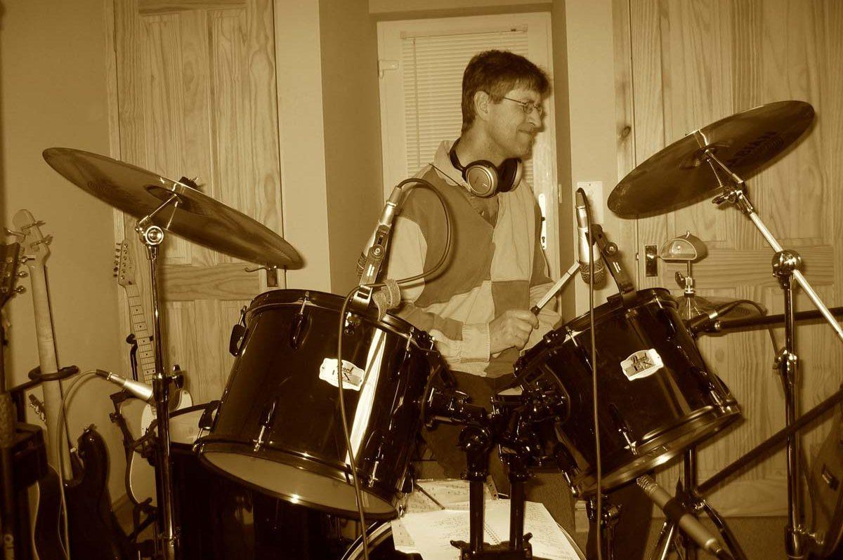 Potting Shed drum recording