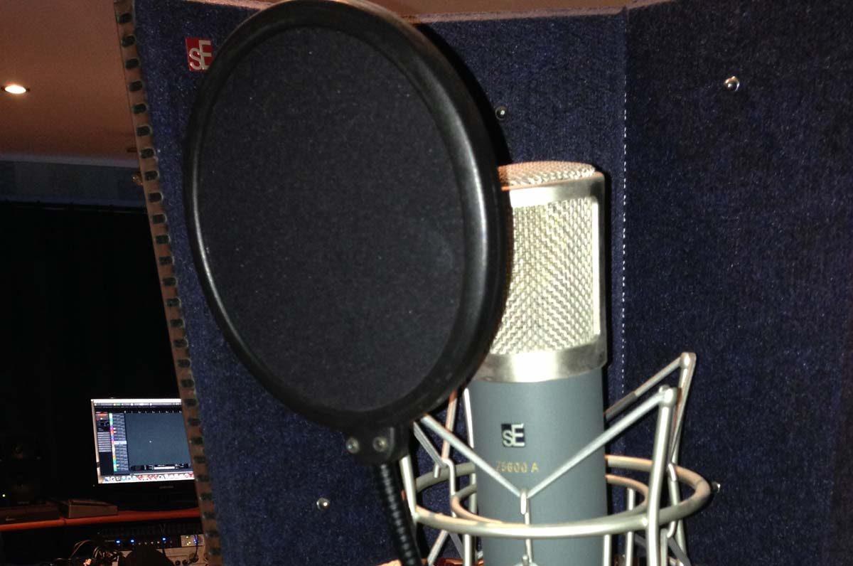 Potting Shed valve microphone